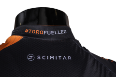 TORQ Cycle Jersey Rear Neck