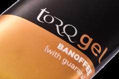 TORQ Energy Gel Banoffee Detail