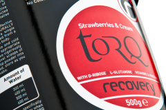 TORQ Recovery Strawberries Cream 500g Tub Detail