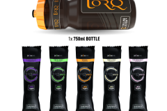 TORQ energy 750ml bottle sample pack - Contents